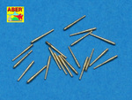 Set of 20 pcs 102 mm universal barrels for Royal Navy ships