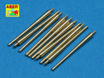 Set of 10 pcs 356 mm barrels for Royal Navy King George V class battleships