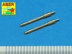 Set of 2 barrels for German 13mm aircraft machine guns MG 131 (middle type)