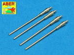Set of 4 barrels for German aircraft 20mm machine guns MG 151/20