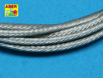 Stainless Steel Towing Cables Ø1,5mm, 1 m long
