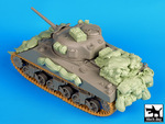 Sherman 75mm Normandy accessories set