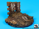Ruined wall base