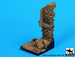 House ruin wall base (50x50 mm)