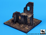 House ruin (Europe) base (110x100 mm)
