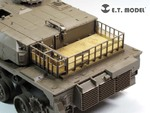 JGSDF TYPE 10 Tank Engine & Turret Rack Grills For TAMIYA 35329