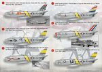 F-86 Sabre/ The complete set 2 leaf. Wet decal