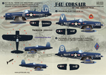F4U Corsaur Of The Korean War Wet decal