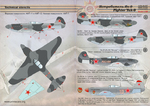 Yak-9  Wet decal