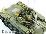 US Army M42A1 Self-Propelled Anti-Aircraft gun late typ For AFV CLUB Kit