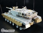 Israeli Merkava Mk.3 BAZ Tank Side Skirts For Meng TS-005