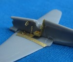 Detail set for UT-1 soviet airplane (resin wheels and Photoetched parts), for Mikro-Mir model kit