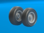 F-111 A/D/E/F wheels set No mask series