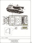 Straps for canvas-cover for Soviet BT tanks