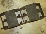 Tray for DT machine gun ammo - 3 magazines