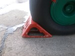 Wheel chocks for An-24, An-26 (4 pcs in a set)