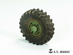 Russian URAL-4320 Truck Weighted Road Wheels