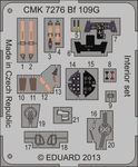 Bf 109G-6 – Interior set 1/72 for Airfix