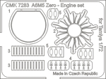 A6M5 Zero – Engine set 1/72 for Tamiya kit