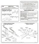 A6M5 Zero – Control surfaces set 1/72 for Tamiya kit