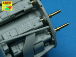 Set of 2 barrels for German aircraft 30mm machine cannons MK 108 with blast tube