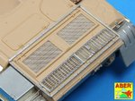 Grilles for Russian tank T-55 also Tiran 5