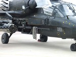 Rapid-fire unit NPPU-80 for Ka-50 Ka-52 helicopter