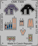 BAC Lightning F2A – interior set for Airfix kit