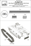 1/72 Pz.III 38cm Kgs 6111/380/120 tracks w/ short horns, 1937-41