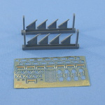 German Kriegsmarine paravane 8 pcs in a set. Resin and PE parts