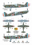 Caudron CR.714 C-1 -5 decal v. for France, Luftwaffe, Finland