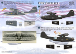 PBY Catalina Two sheets, the general complete set.Wet decal