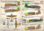 Fiat G.50 Freccia  Wet decal