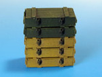Wooden ammo boxes for 7.5 cm Kw.K.40/Stu.K.40 L/43 and L/48 guns.