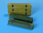 Wooden ammo boxes for 8.8 cm Kw.K.43 guns.
