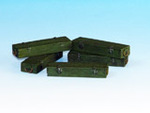 Wooden ammo boxes for 7.5 cm Kw.K.42 guns (Panther)