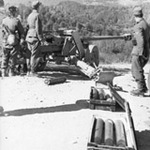 Wooden ammo boxes for 7.5 cm Pak 40 guns.