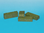 Wooden ammo boxes for 12.8 cm Pak 44/Kw.K. (Maus) guns.