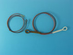 Towing cable set for Panther Ausf A & D