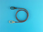 Towing cable set fro T-34/72 mod.1941/42 STZ (2 x 14cm and 4 resin ends)