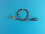 Towing cable set for T-34/85 mod.1945 and post war wresions