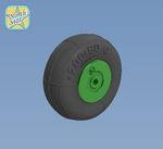 Wheels set for YaK-50 No mask series