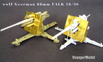 Photo Etched set for 1/35 WWII German 88mm Flak18 (For AFV 35088)