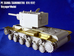 Photo Etched set for 1/35 KV1/KV2 Tank (For TRUMPETER)