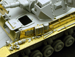 "Photo Etched set for 1/35 Pz.KPfw. IV Ausf  E ""Vorpanzer"" (For DRAGON 6301)"