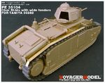 Photo Etched set for 1/35 Char BI-bis with wide fenders(For TAMIYA 35282)
