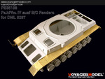 Photo Etched set for 1/35 Pz.kPfw.IV ausf B/C Fenders (For DRAGON6297 )