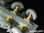Photo Etched set for 1/35 road wheel arms system for Sd.Kfz.234 (For DRAGON 6221)