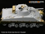 Photo Etched set for 1/35 WWII M4A2 /Sherman Mk-III (For DRAGON 6062/6313)