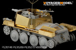 Photo Etched set for 1/35 fenders for 38t tank (For DRAGON)